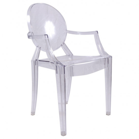 Chaise Ghost accoudoire