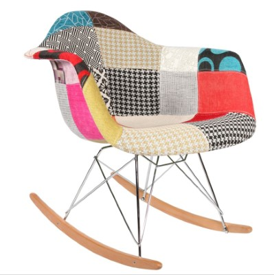 Chaise RAR Patchwork Eames